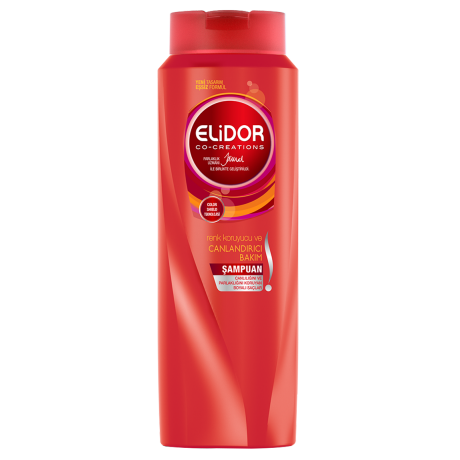 Elidor Renk Koruyucu ve Canlandırıcı Bakım Şampuan 550ml Ön Yüz
